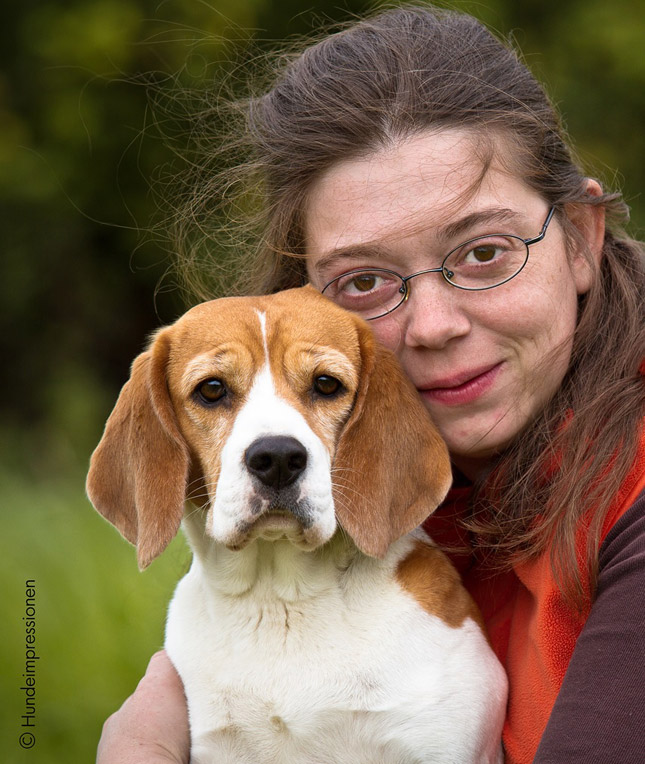 Katharina Küsters bildet Assistenzhunde aus.